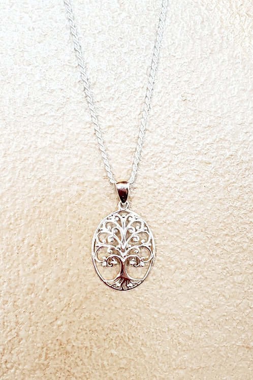 Small Oval Tree of Life