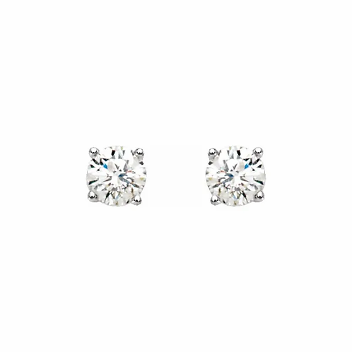 0.33ctw Diamond Stud Earrings