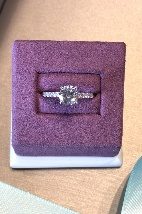 0.30ctw Semi-Mount Engagement Ring