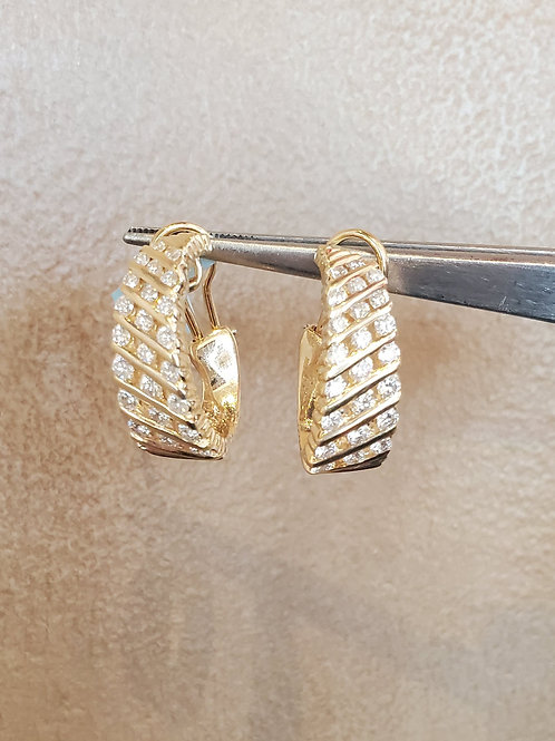 3.00ctw Diamond Earrings