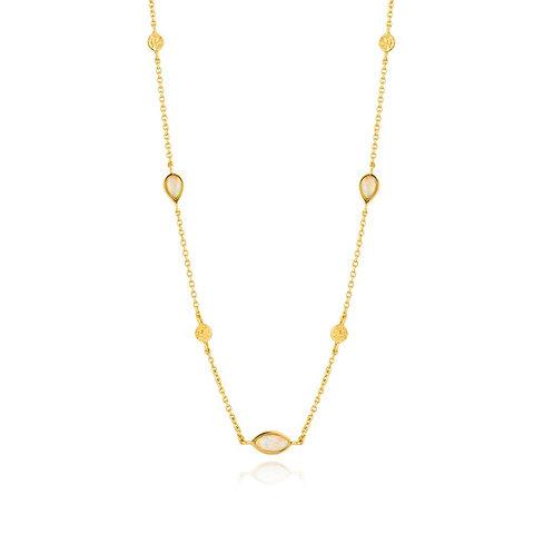 Opal Color Necklace