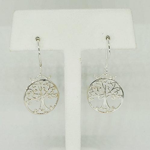 Southern Oak Tree Earrings