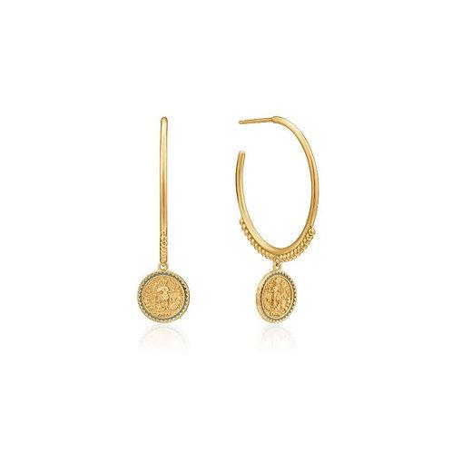 Emperor Hoop Earrings