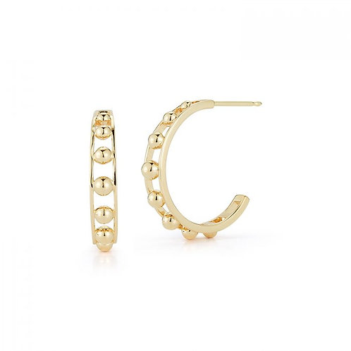 Gold Dove Hoops