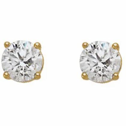 0.50ctw Diamond Stud Earrings