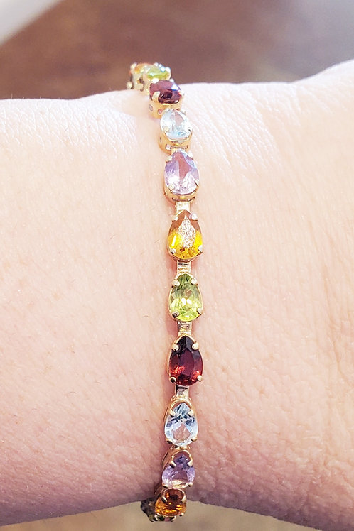 Multi Stone Bracelet