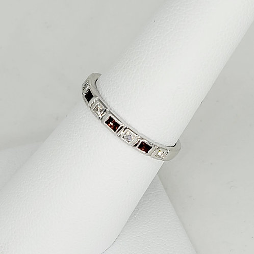 Ruby and Diamond Stackable
