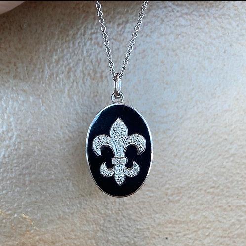 Diamond Fleur Necklace