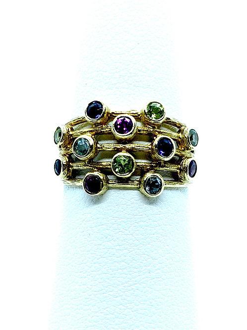 Multiple Gemstone Ring