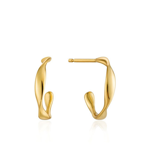 Twist Mini Hoop Earrings