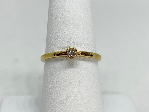 0.10ct Diamond Stackable Ring