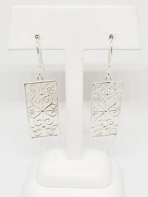 Terrace Scroll Earrings