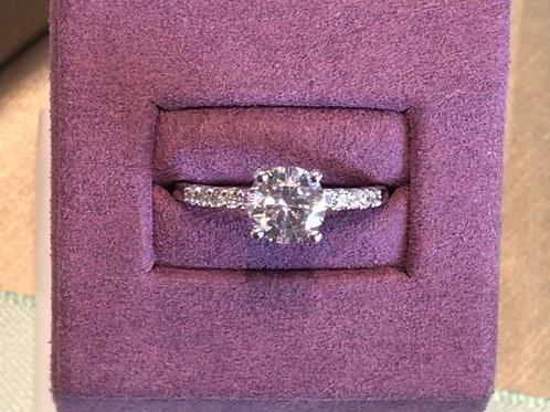 0.22ctw Semi-Mount Engagement Ring
