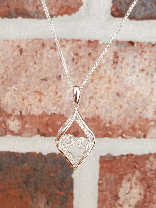 0.14ctw Diamond Necklace