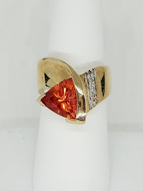 Spessartine Garnet Ring