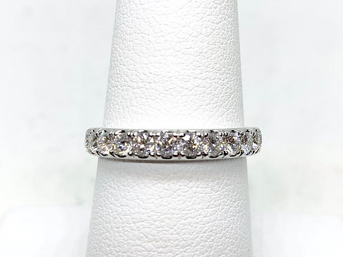 Lady's 0.74ctw Diamond Wedding Band