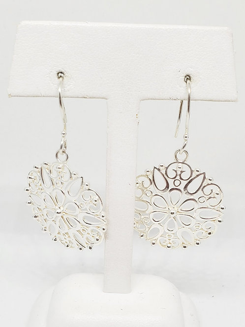 Petal Scroll Earrings