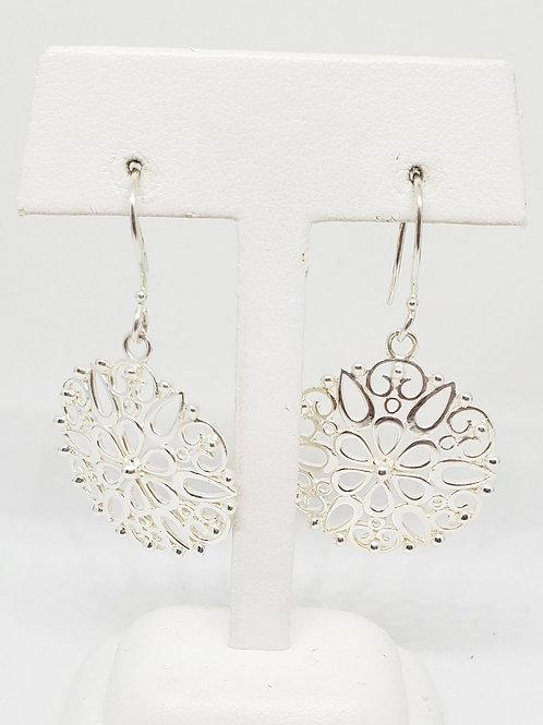 Petal Scroll Earrings