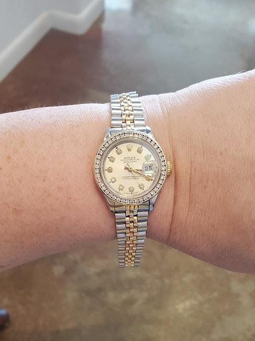 Lady's Diamond Rolex