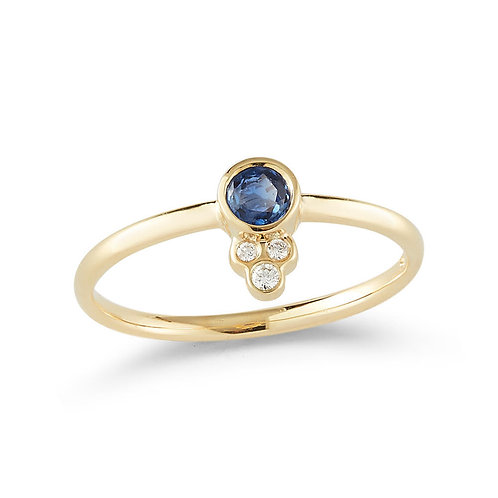 Sapphire Prima Ring