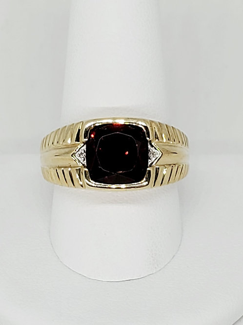 Men's Ruby Ring