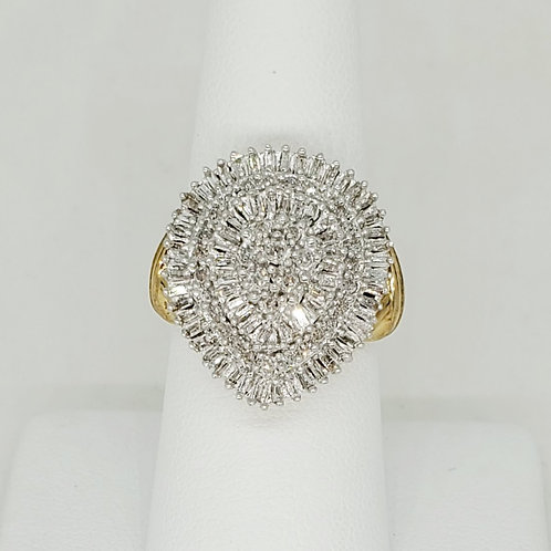 Pear Cluster Ring