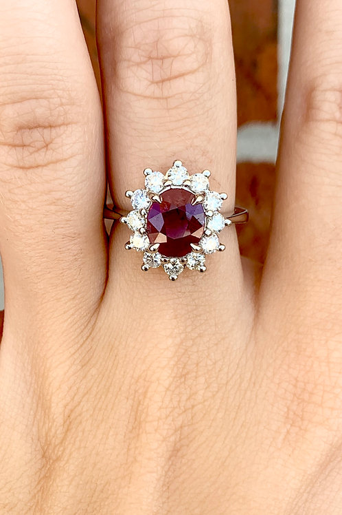 Princess Di Ruby Ring
