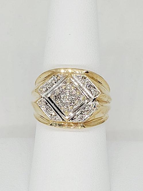 Men's Cluster Diamond Ring