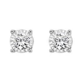 0.10ctw Diamond Stud Earrings