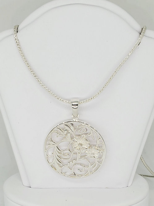 Courtyard Floral Necklace