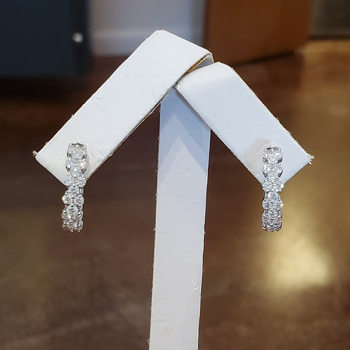 1.03ctw Diamond Earrings