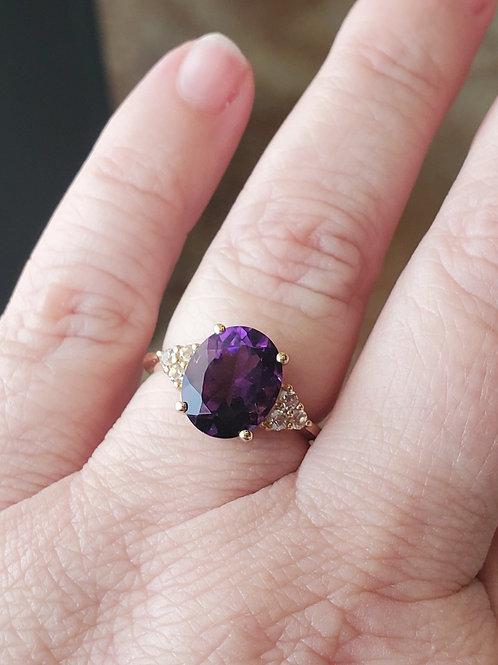 Amethyst Fashion Ring