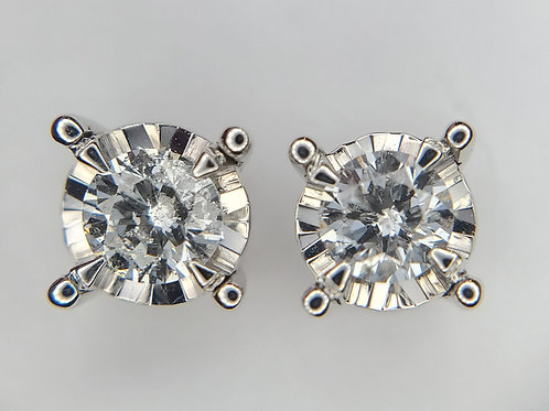 0.50ctw Diamond Stud Earrings