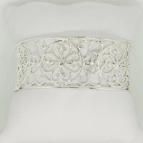 Four Heart Cuff Bracelet