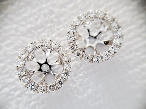 0.38ctw Diamond Jackets