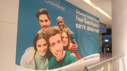 OrthoDents inaugura clínica Buriti Shopping, em Guarantiguentá