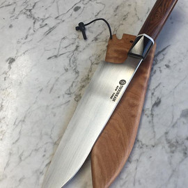 180mm petty chef with a workhorse geomet