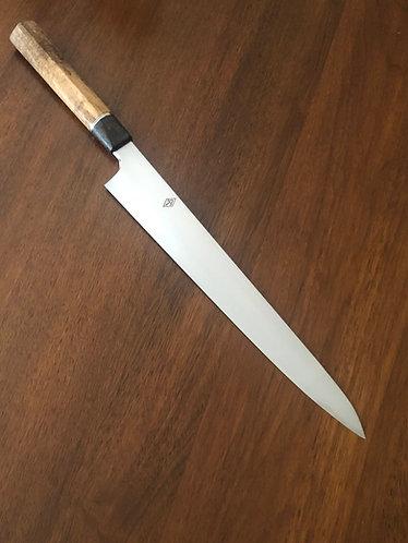 270mm Suji w/mango & bog oak handle AEBL