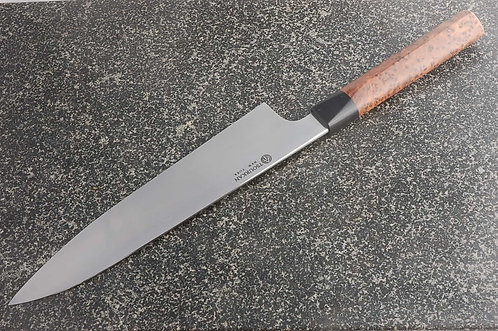225mm 52100 Workhorse Gyuto Moroccan Thuya Handle