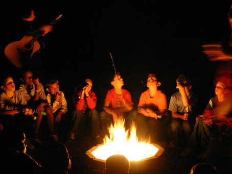 Clear vision from the campfire