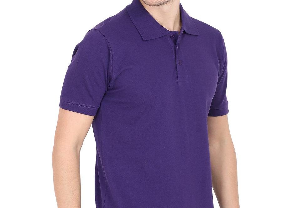 Purple Men's Polo