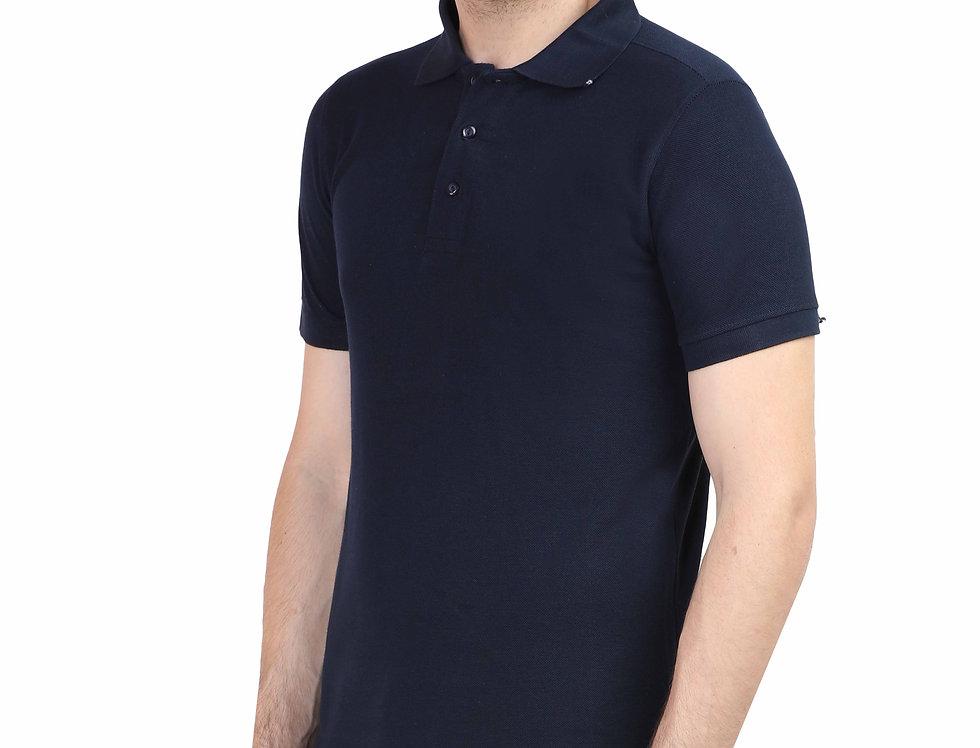 Navy Blue Men's Polo