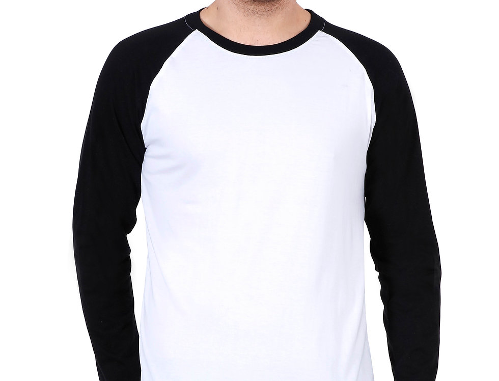 Cotton Raglan T-Shirt For Men