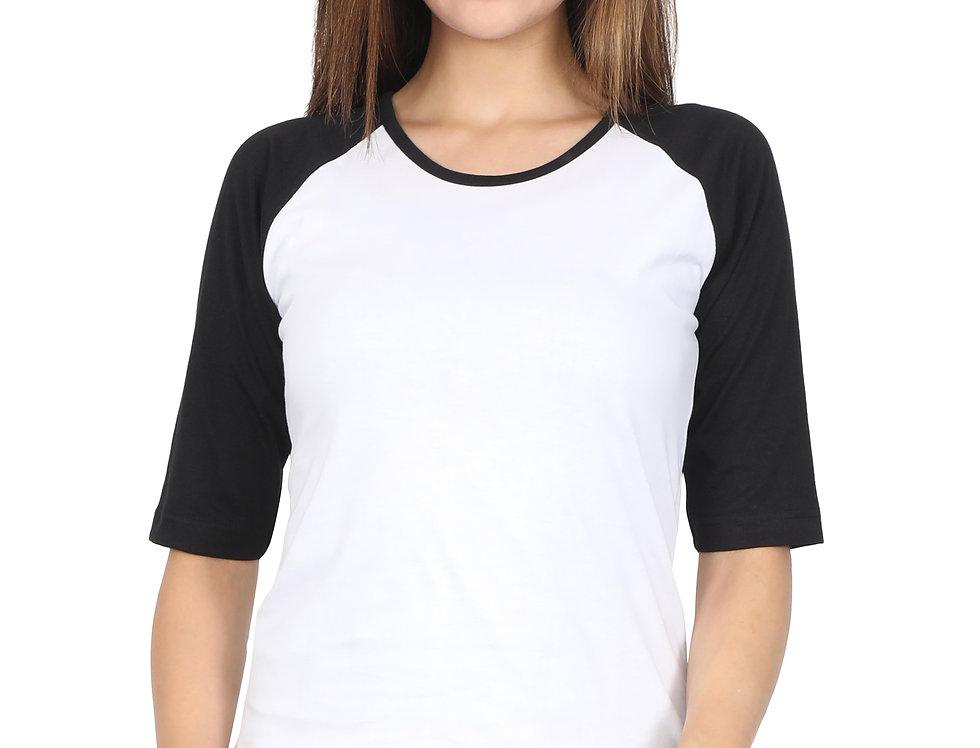 Cotton Raglan T-Shirt For Women