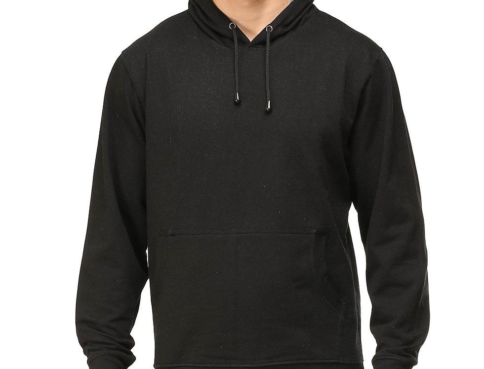 Black Hooded Sweatshirt For Men