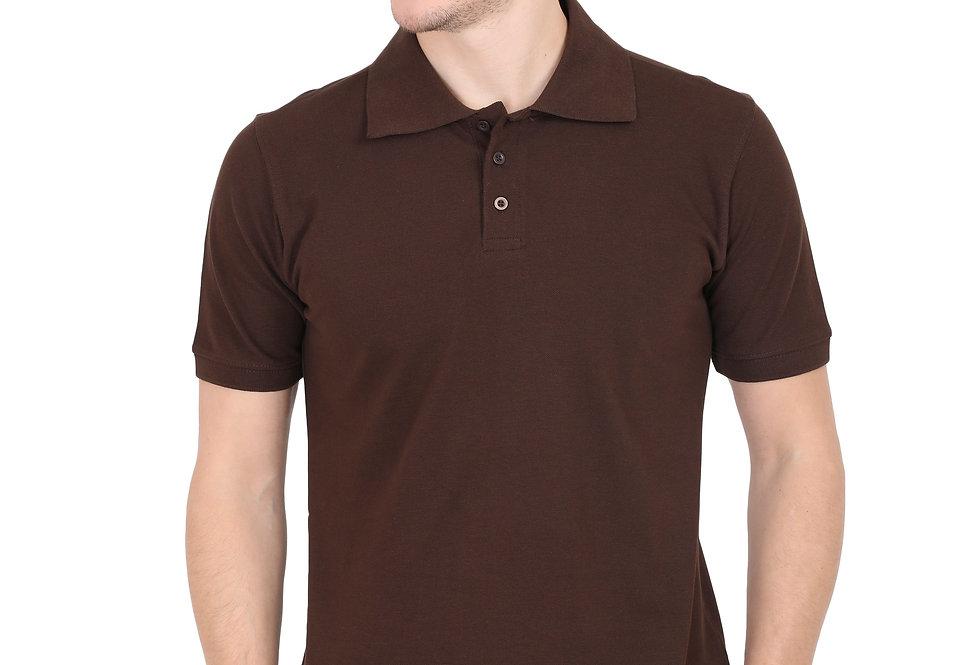 Brown Men's Polo