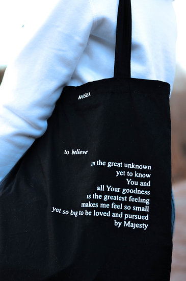 Loved and Pursued By Majesty Tote Bag