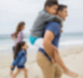 Family with kids looking for pediatric dentistry dentist for kids in South San Francisco Beach