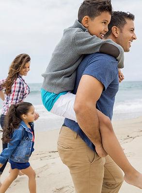 Family Beach Visit