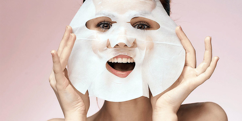 Let's Get Glowing Together Party - Sheet Masks Trend